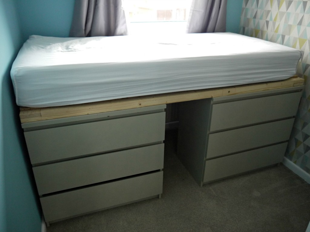 Picture of: Ikea Malm Bed Hack