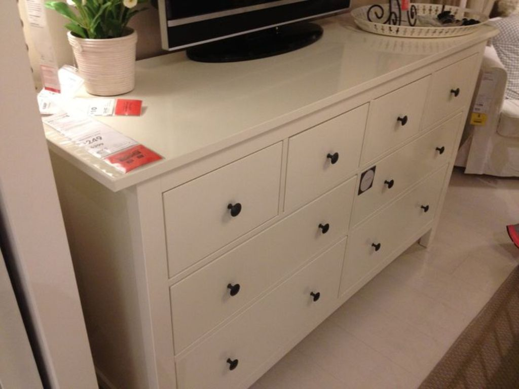 Picture of: Agreeable Ikea White Dresser