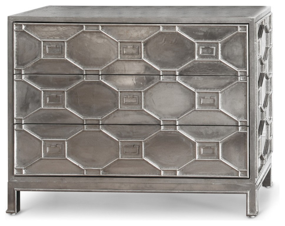 Image of: Kiran Embossed Metal Furniture