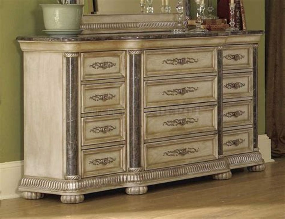 Picture of: Modern White wash dresser Design