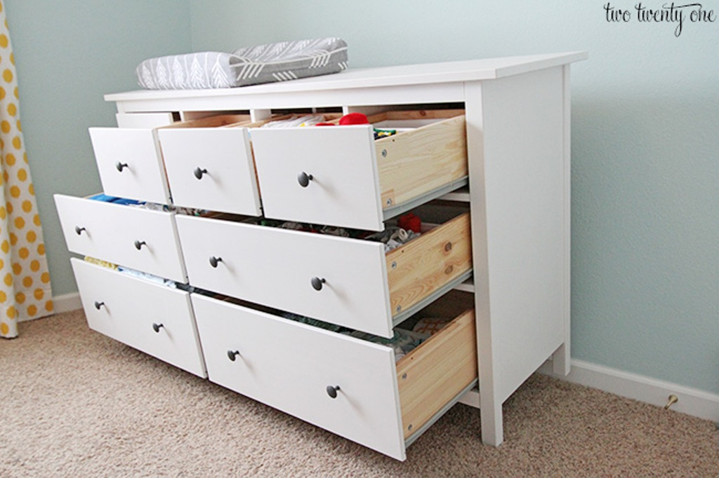 Picture of: Popular White Wash Dresser