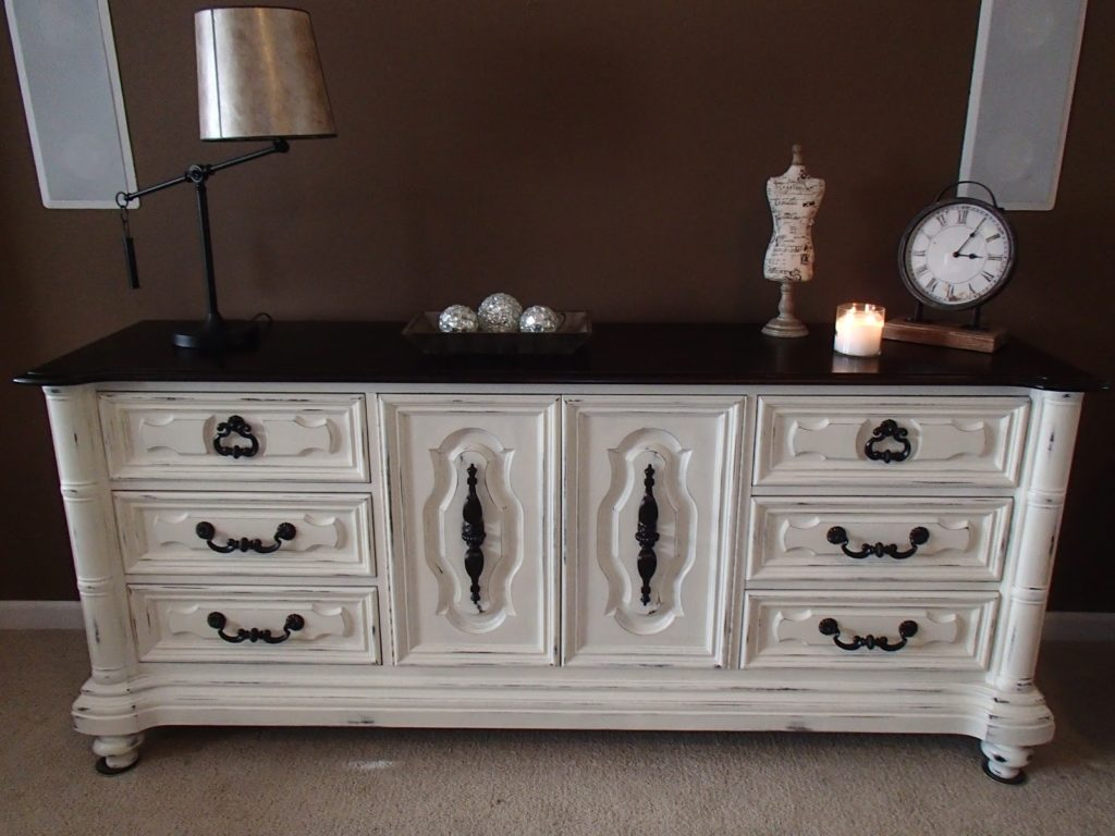 Picture of: Solid Wood Dresser White