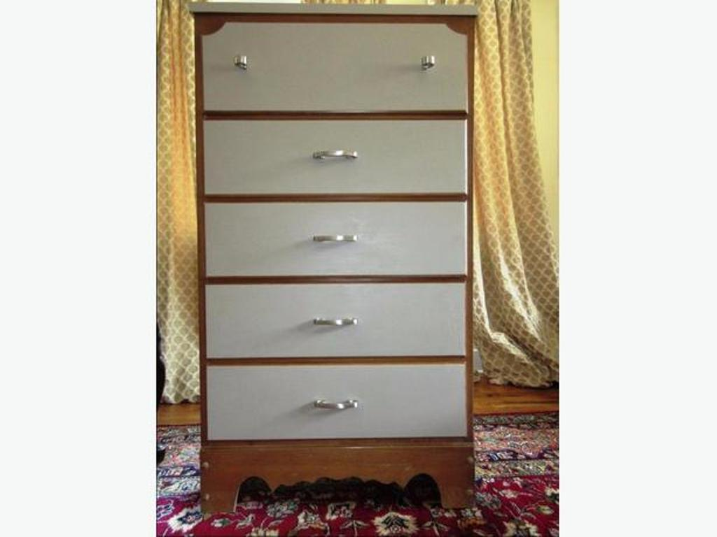 Picture of: Solid Wood Tall Dresser Plans