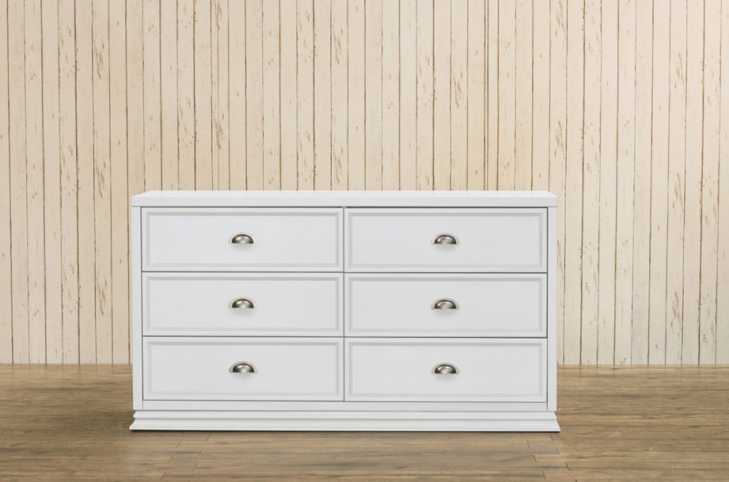 Picture of: White Drawer Dresser