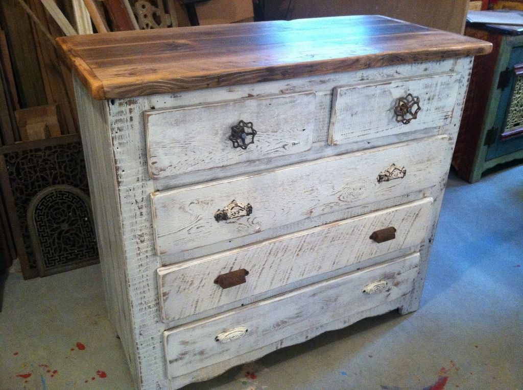Picture of: White Wash Dresser Diy