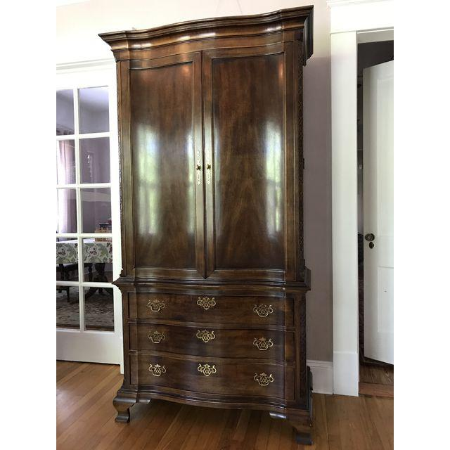 Picture of: Amazing Henredon Armoire