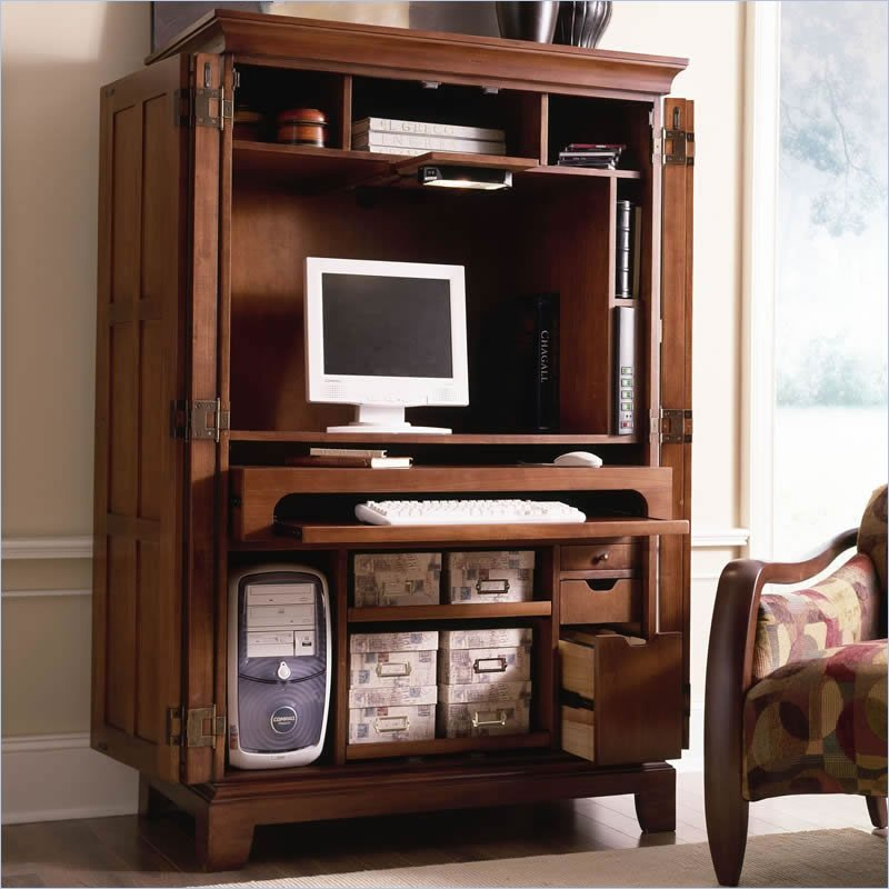 Picture of: Amazing Laptop Armoire