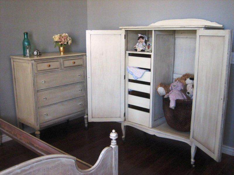Picture of: Amazing Nursery Armoire