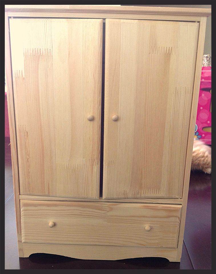 Picture of: American Girl Armoire Plan