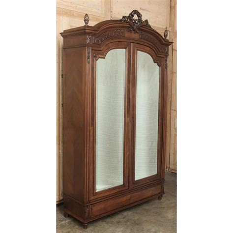Picture of: Antique French Armoire Mirror