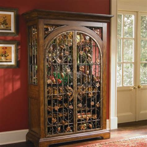 Image of: Antique Wine Armoire