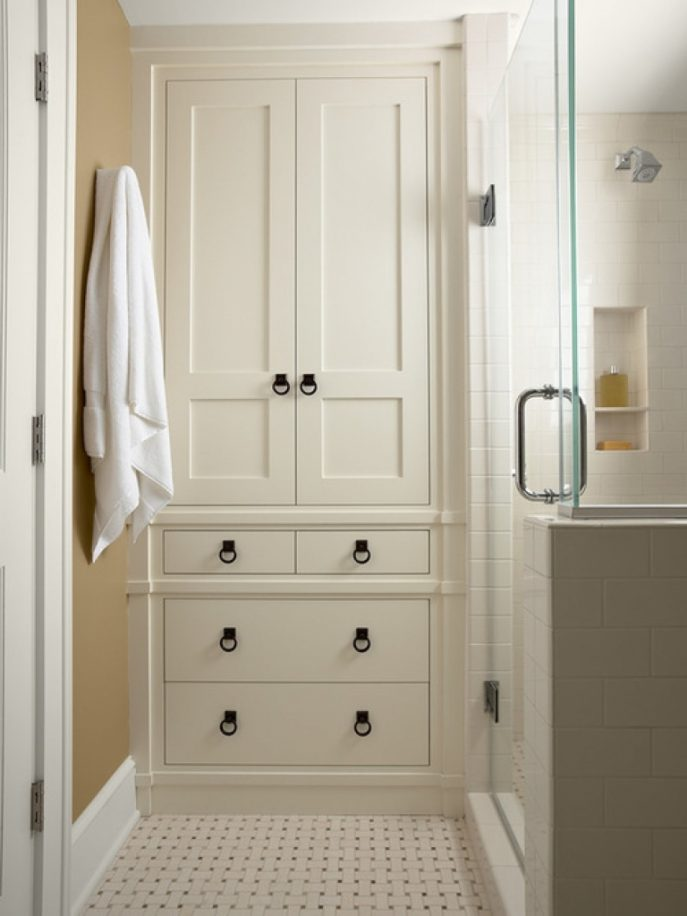 Bathroom Linen Armoire