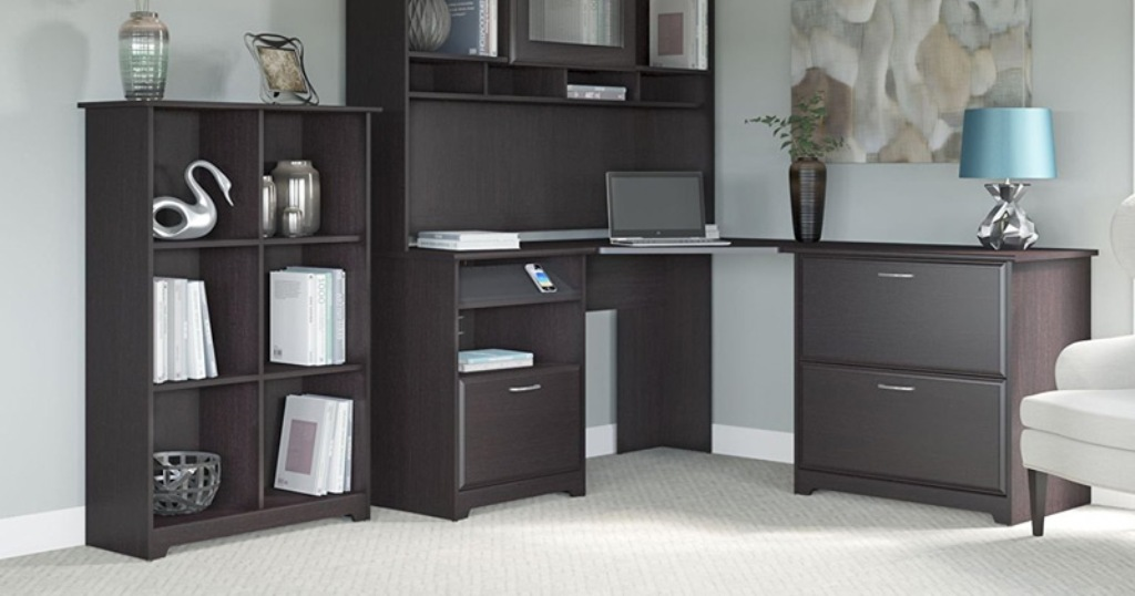 Image of: Best Corner Armoire Desk Design