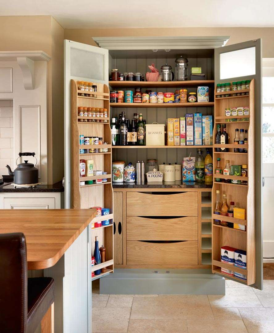Picture of: Big Pantry Armoire