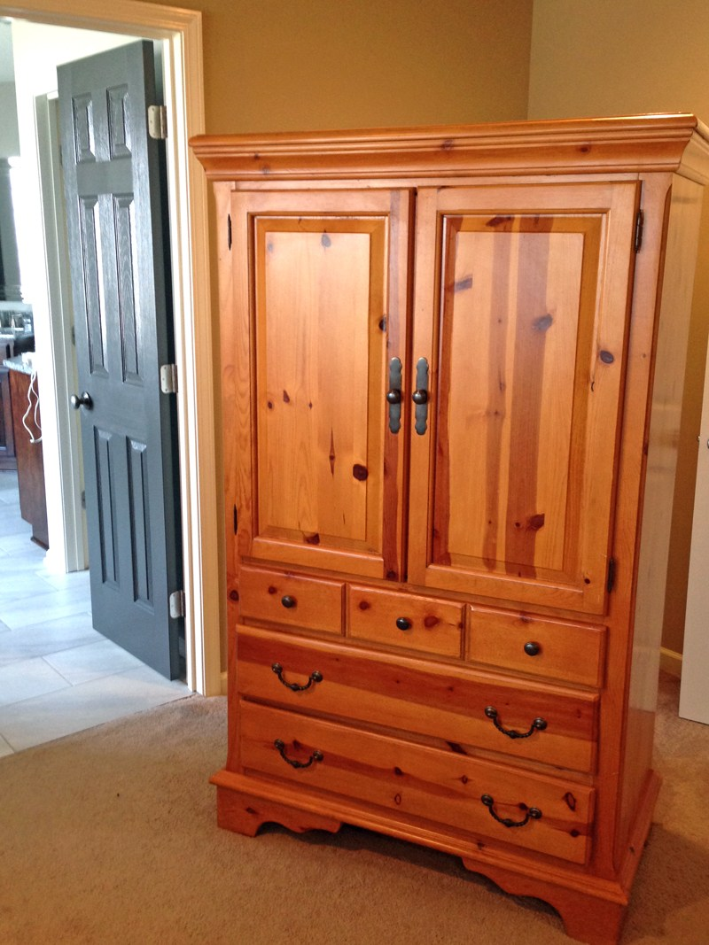 Image of: Big Pine Armoire