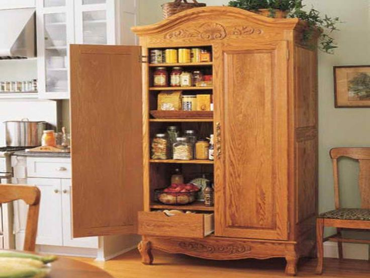 Picture of: Big Small Pantry Armoire