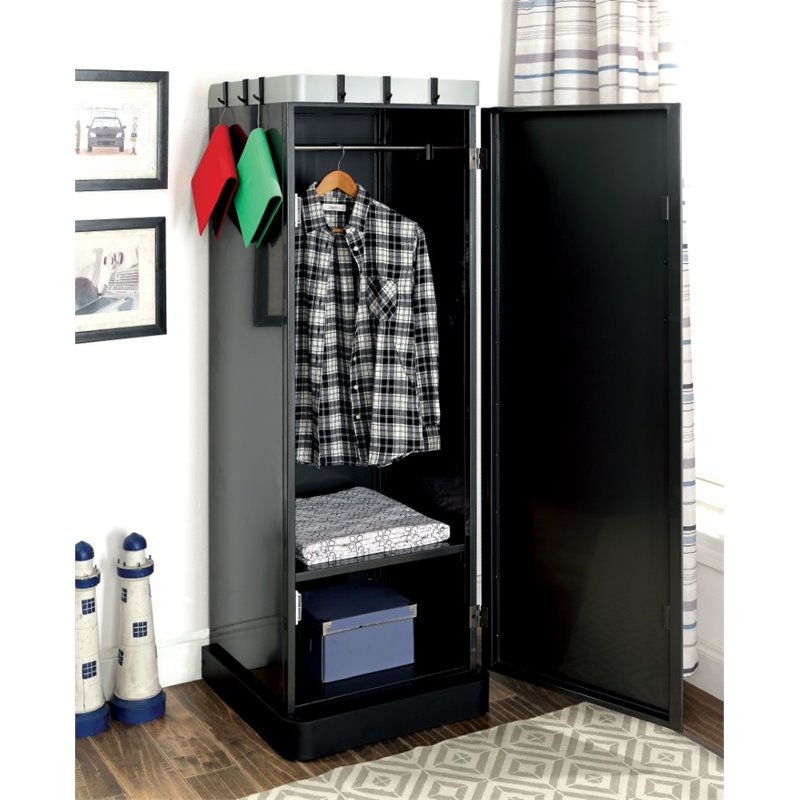 Image of: Black Children's Armoire