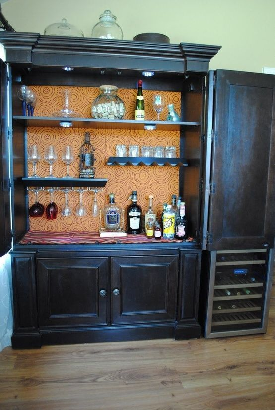Image of: Black Craft Armoire