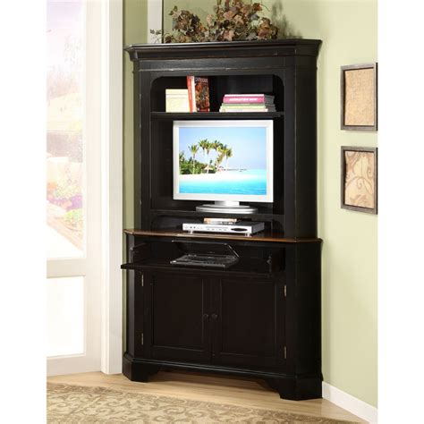 Image of: Black Small Armoire