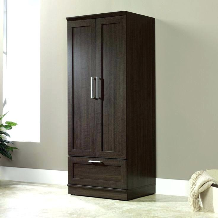 Picture of: Black Unfinished Armoire