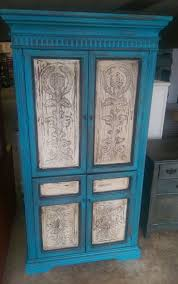 Blue Small Armoire