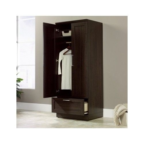 Brown Tall Armoire