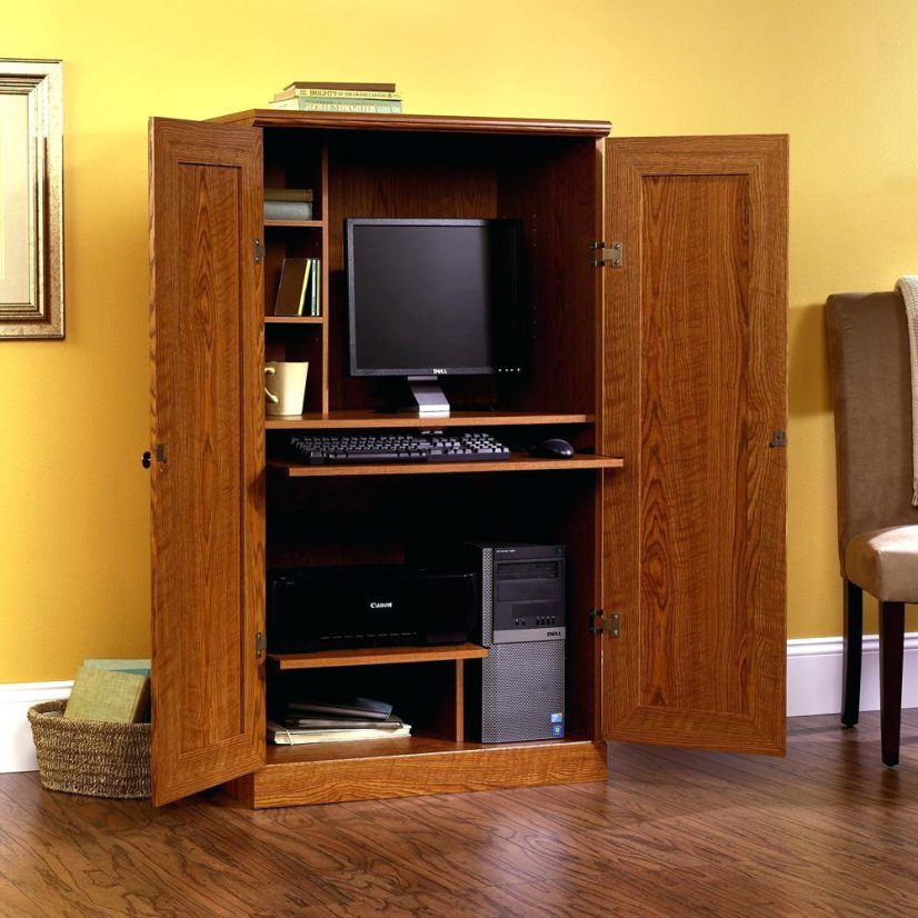 Image of: Children's Armoire and Desk