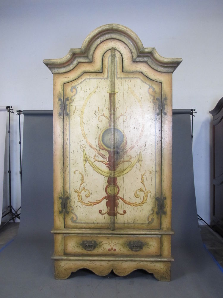 Image of: Colonial French Country Armoire