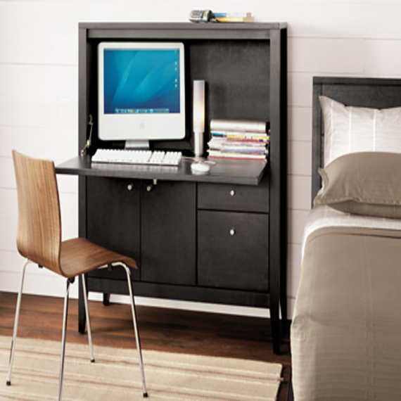 Image of: Computer Armoire Ikea Desk