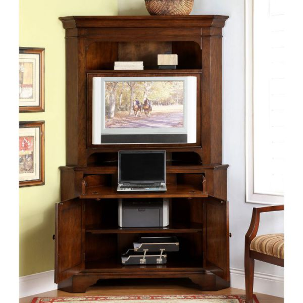 Image of: Computer Corner Armoire Desk