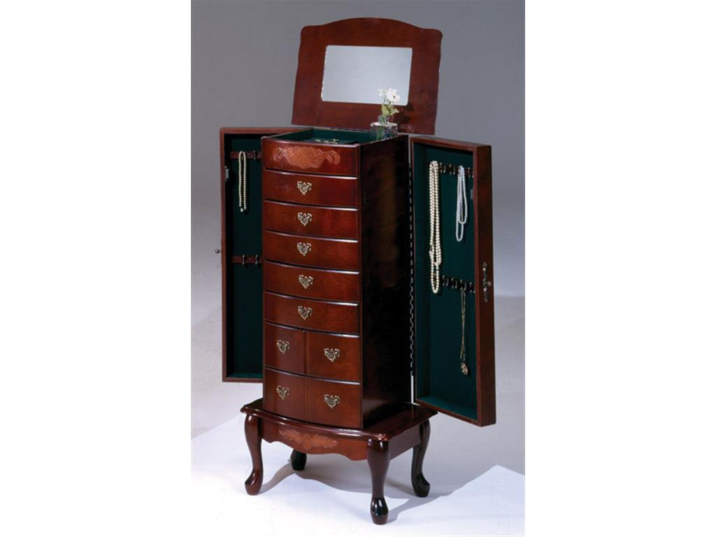 Image of: Contemporary Cheval Mirror Jewelry Armoire