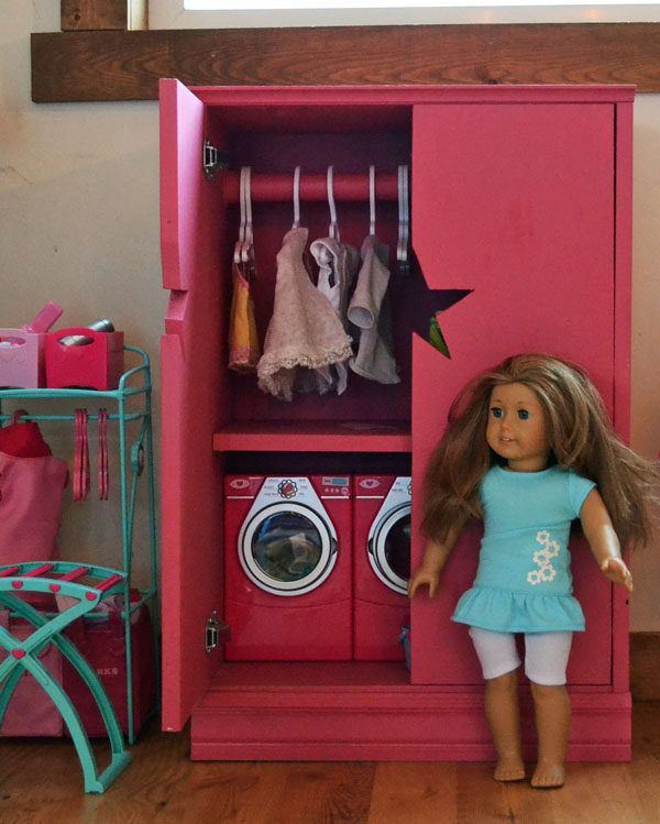 Picture of: Cool American Girl Armoire