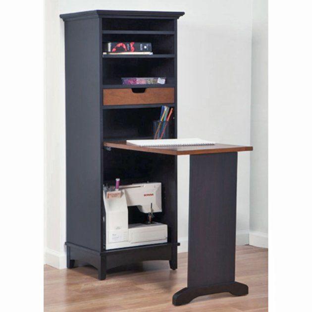 Image of: Craft Armoire Table