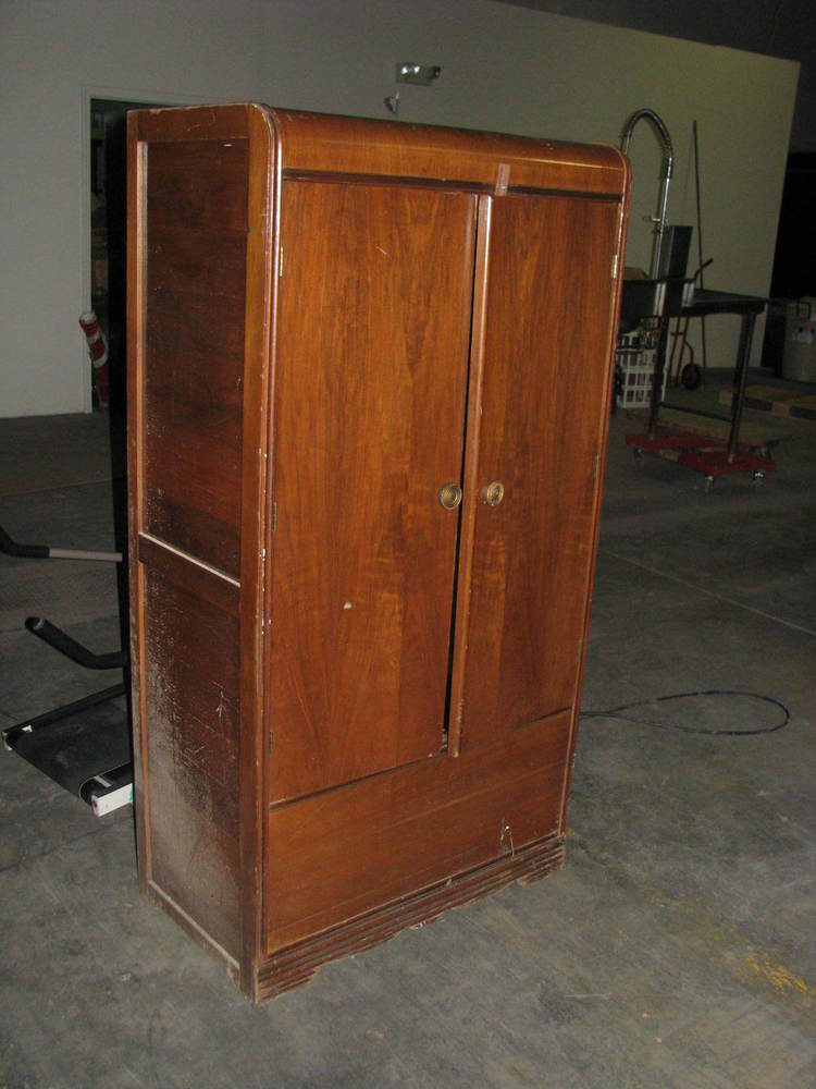 Custom Antique Armoire Wardrobe