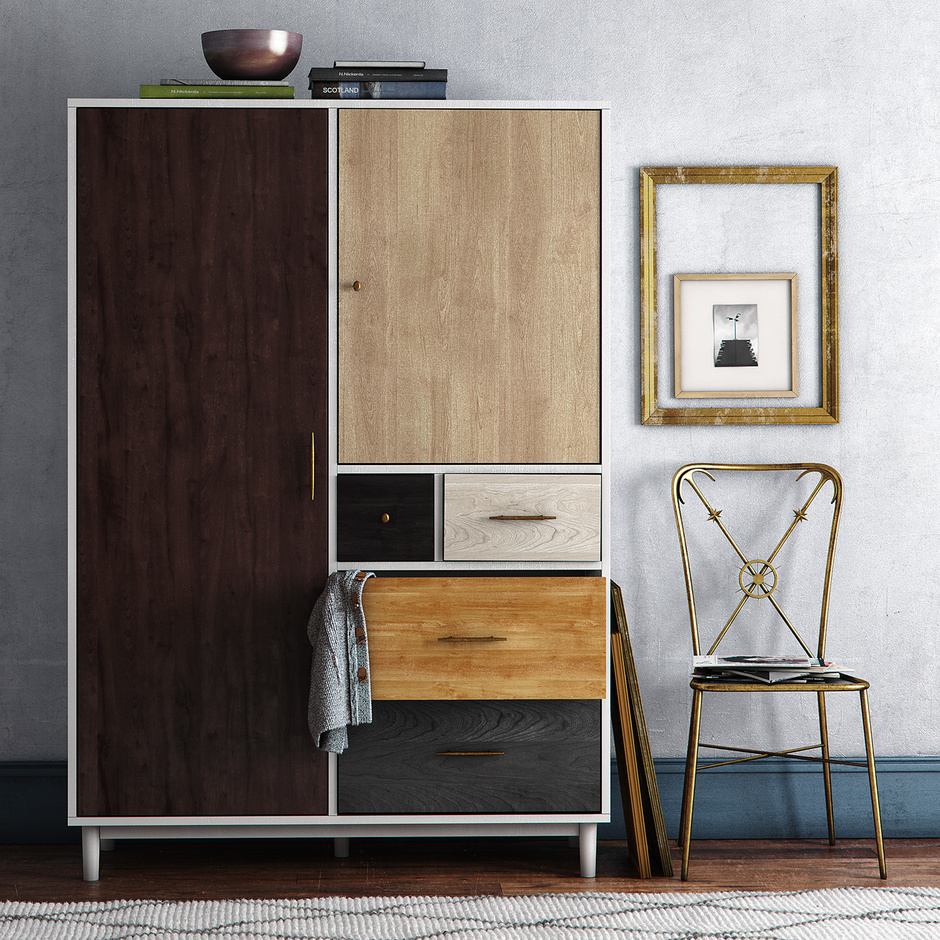 Image of: Custom West Elm Armoire