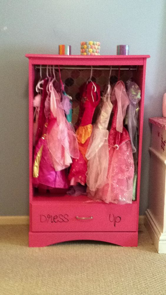 Picture of: Cute Dress Up Armoire