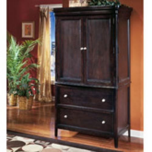 Dark Ashley Furniture Armoire