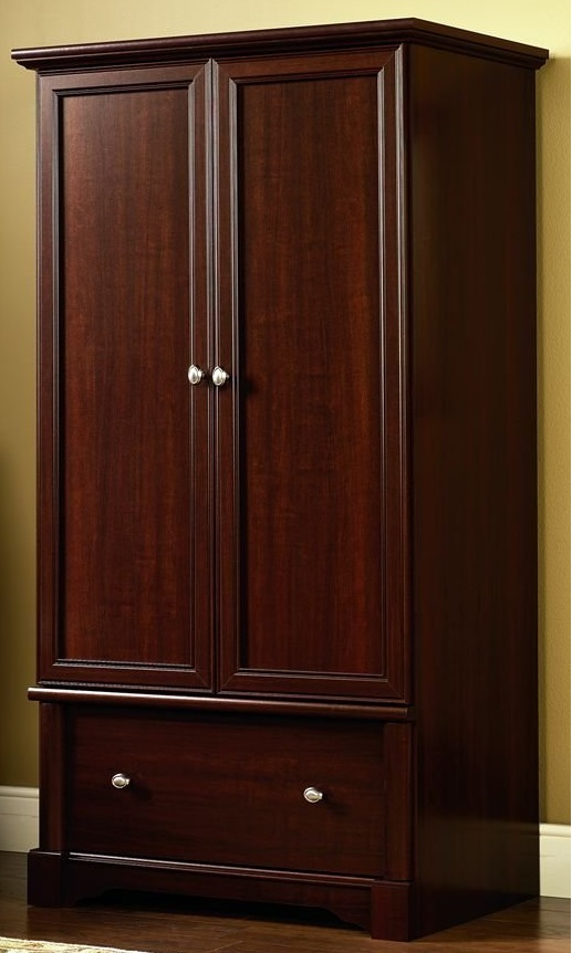 Image of: Dark Cherry Armoire