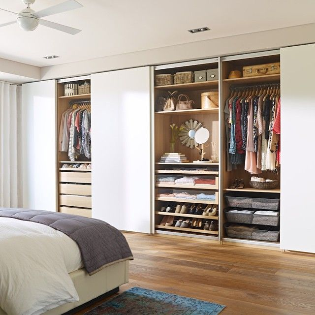 Picture of: Design Armoire with Drawers and Shelves