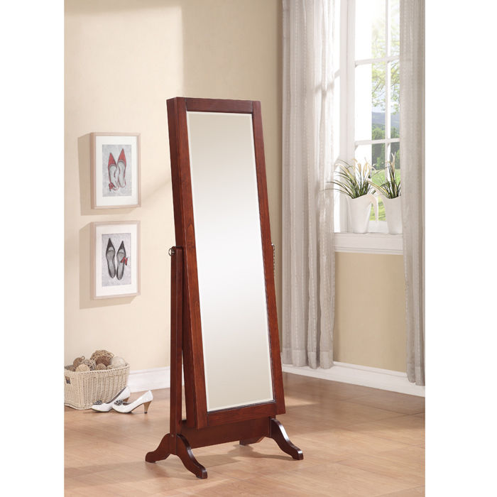 Picture of: Design Full Length Mirror Jewelry Armoire