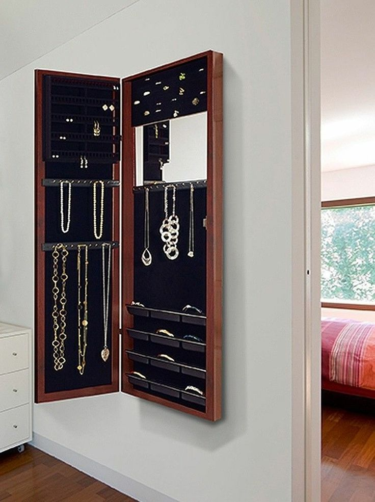 Picture of: Design Hanging Jewelry Armoire