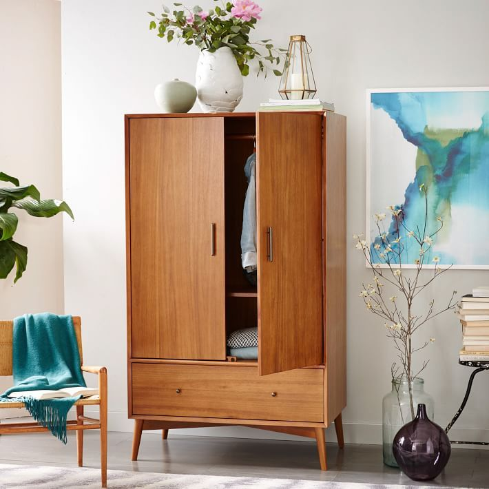Picture of: Design Mid Century Armoire