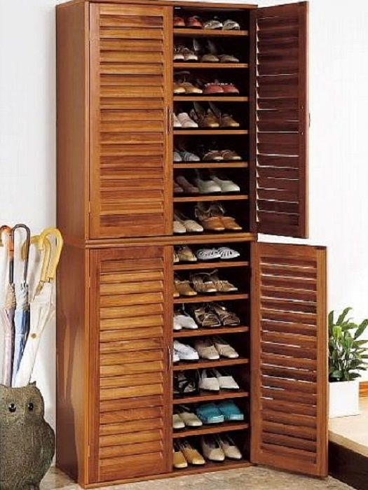 Image of: Design Shoe Armoire