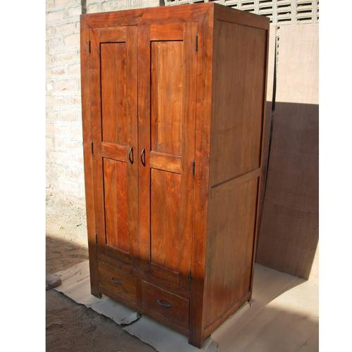 Image of: Design Solid Wood Armoire