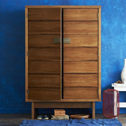Image of: Design West Elm Armoire