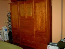 Picture of: Design Wood Armoire Wardrobe