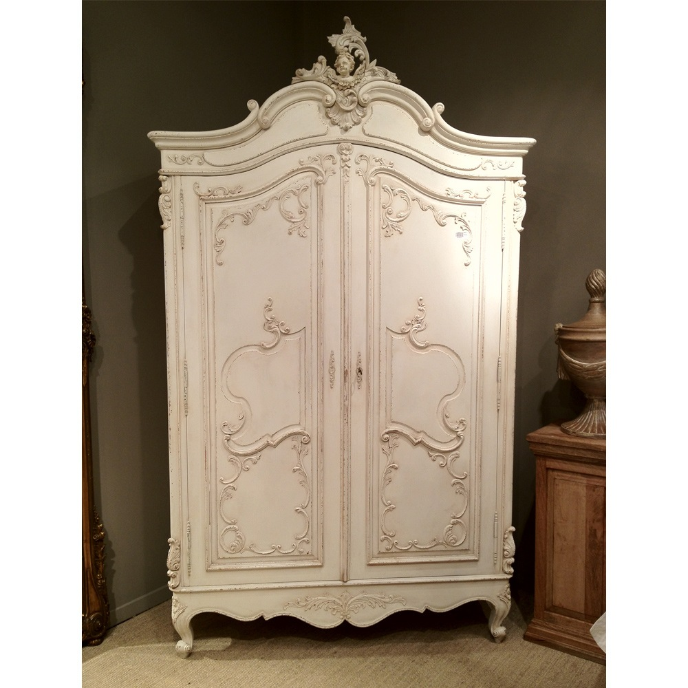 Image of: Distressed Armoire Furniture