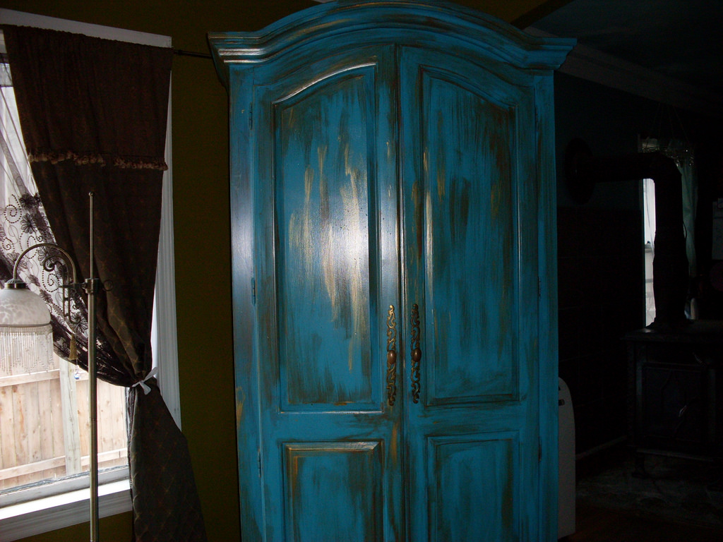 Distressed Armoire Image