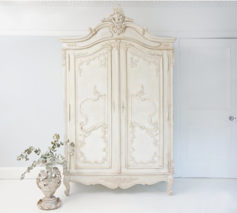 Image of: Distressed Armoire Picture