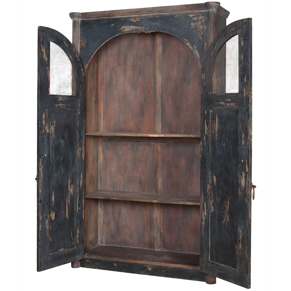 Image of: Distressed Armoire for Farmhouse